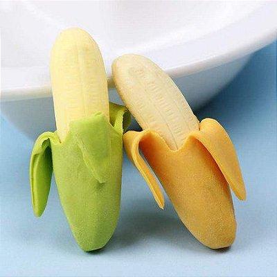 Kit Borracha Escolar Banana - 2 Unidades