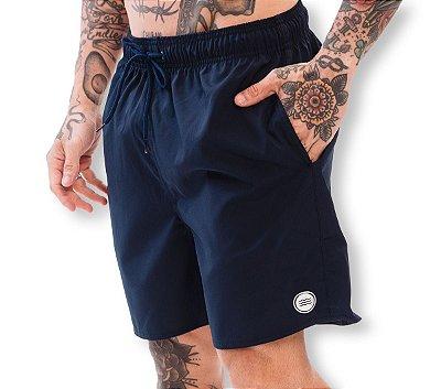 Shorts Elastano Azul Marinho