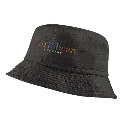 Bucket Rainbow Black B0001