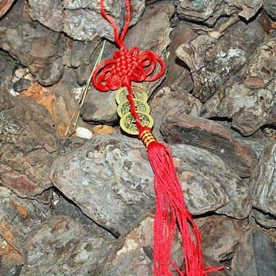 Amuleto sorte I Ching para parede