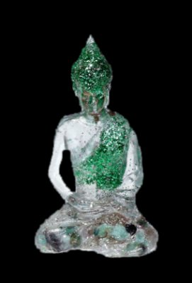 Buda Orgonite  Verde