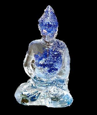 Buda Orgonite  Azul