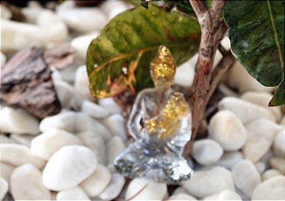 Buda Orgonite  Dourado