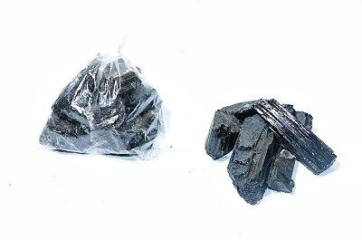 Turmalina Negra Bruta Saco de 100 gramas
