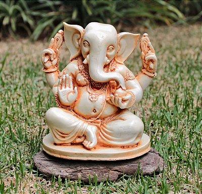 Ganesha Branco (Produto Indiano )