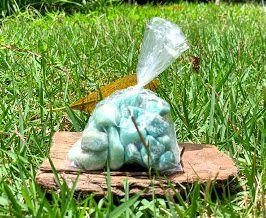 Pedra de Amazonita  saco com 100 gramas - Signo de Aquário - Pedra 2021
