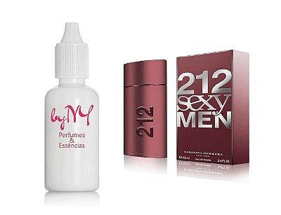 Essência Importada Masculina 212 Sexy Men Carolina Herrera