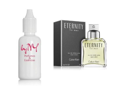 Essência Importada Masculina Eternity For Men Calvin Klein