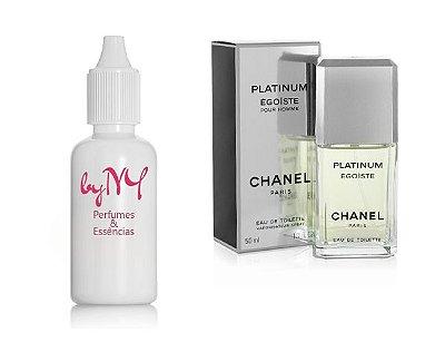 Essência Importada Masculina Inspirada Egoiste Platinum Chanel
