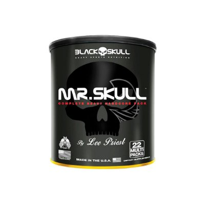 Mr Skull By Lee Priest - 22 Packs - Black Skull