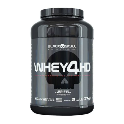 Whey 4HD - 2lbs (907g) - Black Skull