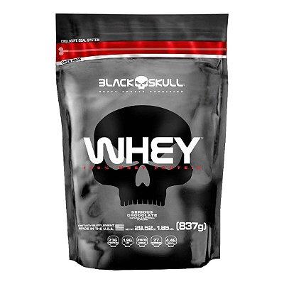 100% Whey (837g) - Black Skull