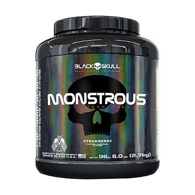 Monstrous 6lbs (2.7kg) - Black Skull
