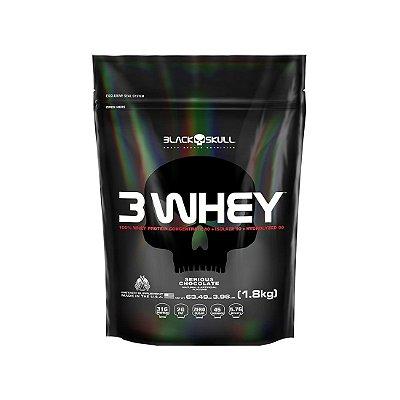 3 Whey (1.8kg) - Black Skull