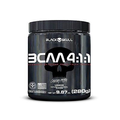 BCAA 4:1:1 (280g) Caveira Preta - Black Skull