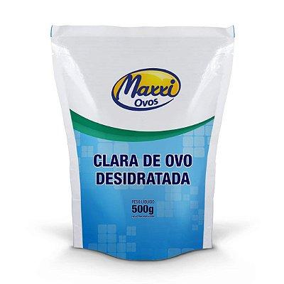 Albumina Natural Sem Sabor (500g) - Maxxi Ovos