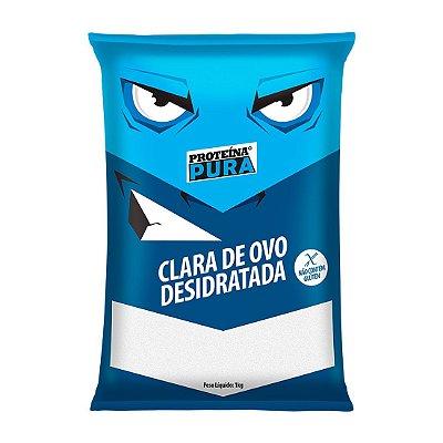 Clara de Ovo Desidratada Proteína Pura (1kg) - Netto Alimentos
