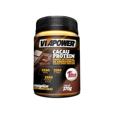 Pasta de Amendoim (370g) - VitaPower