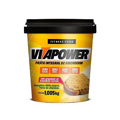 Pasta de Amendoim Integral com Granulado (1.005kg) - VitaPower