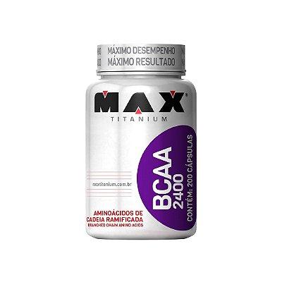 BCAA 2400 (200CAPS) MAX TITANIUM