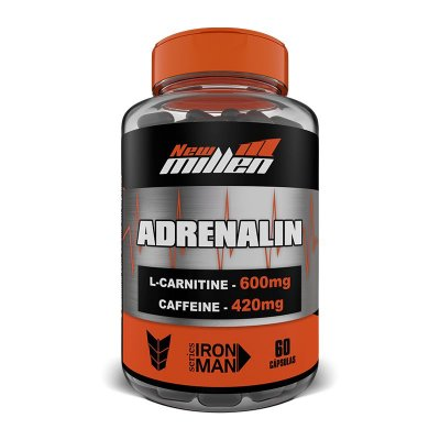 ADRENALIN 60CAPS NEW MILLEN