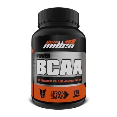POWER BCAA IRON MAN 120CAPS NEW MILLEN