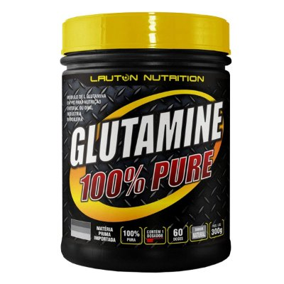 GLUTAMINA 100% PURE (300G)
