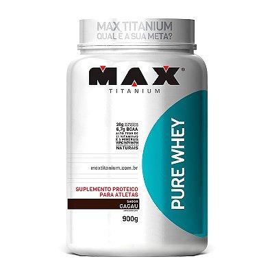 PURE WHEY (900G) MAX TITANIUM