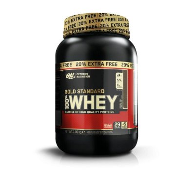 100% Whey Gold Standard 2lb + 20% Free - 1090g - Optimum Nutrition