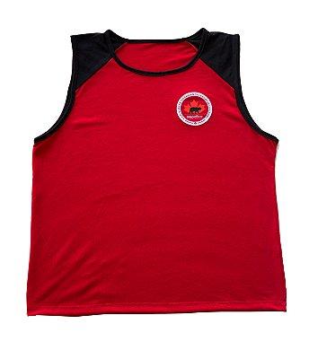 Maple Bear Fundamental - Camiseta Regata Masculina - Vermelha