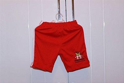 0268abd6e0 Maple Bear Infantil - Bermuda Adidas - Helanca