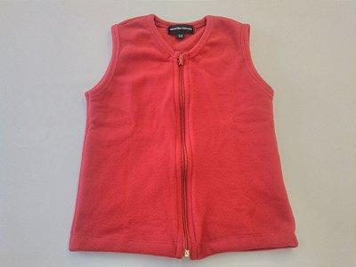 Colete em Fleece Vermelho - Ref.92