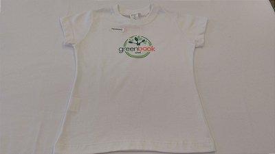 Green Book - Camiseta Feminina - Manga Curta Coleção Passada - Ref.46