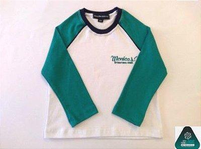 Monica's School - Camiseta Antiviral Manga Longa- Entrega em Março 2021