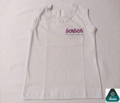 Senses Montessori - Camiseta Regata Antiviral Unissex - Entrega em Março 20121