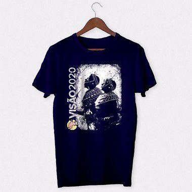 Camiseta Masculina: VISÃO 2020 - AZUL