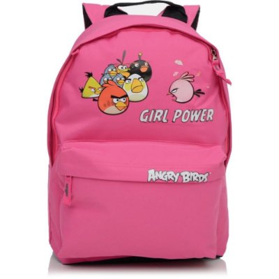 Mochila Angry Birds Rosa
