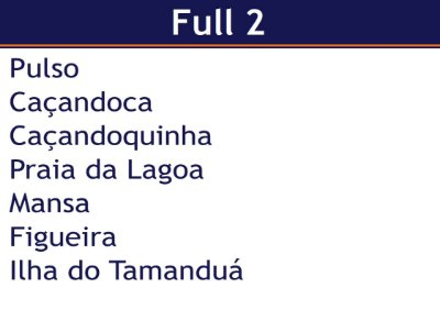 Aluguel de Lancha  Pacote Full 2 - Pulso x Ilha do Tamanduá