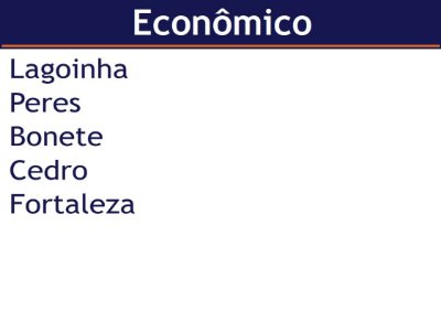 Aluguel de Lancha  Pacote Econômico - Lagoinha x Fortaleza