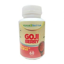 Goji Berry 60 cápsulas - Verde Nattus