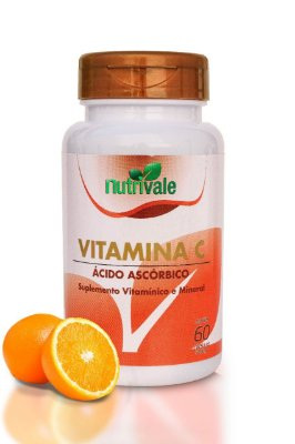 Vitamina C 60 cápsulas - Nutrivale