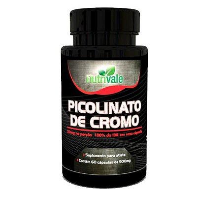 Picolinato de Cromo 60caps - Nutrivale