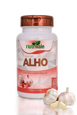 Óleo de Alho 60 cápsulas - Nutrivale