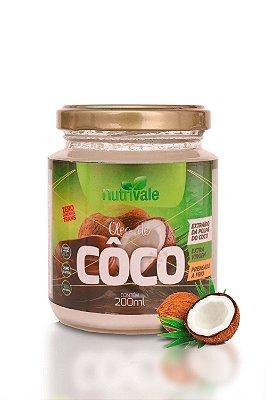 Óleo de Coco 200ml - Nutrivale