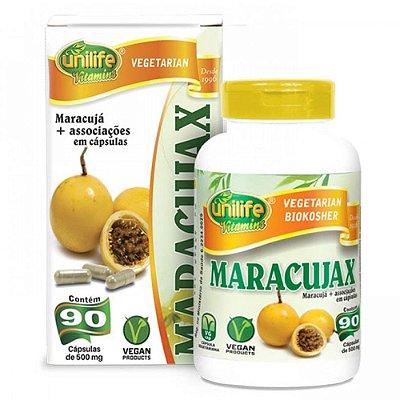 Calmante Natural Maracujax 90 Cápsulas - Unilife