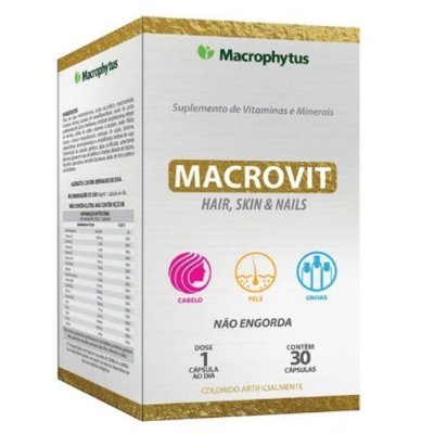 Macrovit Hair, Skin & Nails 30 caps - Macrophytus