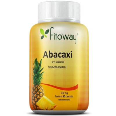 Abacaxi 60 cápsulas - Fitoway