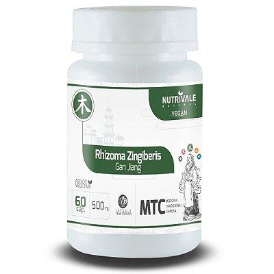 Gengibre - Rhizoma Zingiberis - 60 cápsulas - Nutrivale