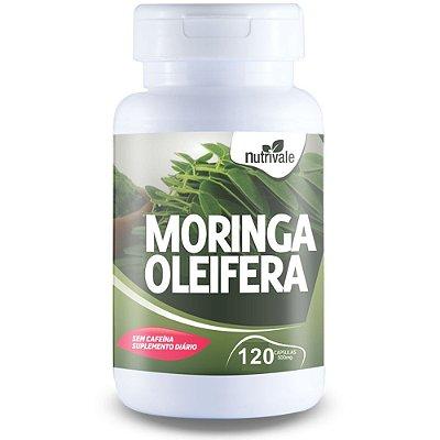 Moringa Oleifera - 120 cápsulas - Nutrivale