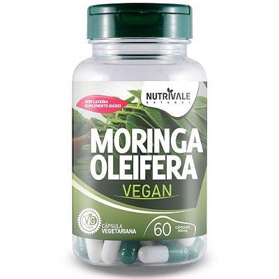 Moringa Oleifera Vegana - 60 cápsulas - Nutrivale